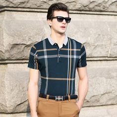 Patchwork Polo Shirt