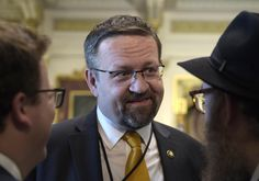 """Former Trump White House official Dr. Sebastian Gorka, says a senior FBI agent told him that the """"7th floor of the FBI looks at the Trump White House as the enemy."""""""