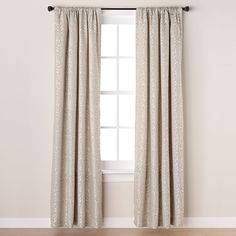 George home tab top jungle Fever Lined Curtains