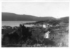 Panorámica da ría. Slide de fotografías de Memorias do Vicedo - fotografías antigas de O Vicedo-Lugo-Galicia