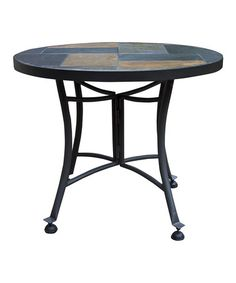 Loving this Slate Accent Table on #zulily! #zulilyfinds