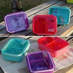 Single Tier Small Sealed Boxes Sushi Box (Random Color) – BRL R$ 49,49