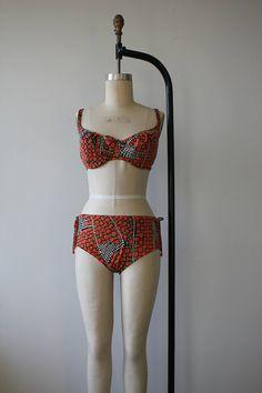 1960s bikini / vintage 60s bikini / vintage by livinvintageshop