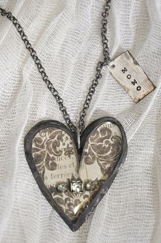 Industrial+style+soldered+heart+necklace+with+by+dandelionatelier,+$75.00