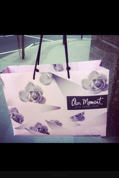 Even the gift bag is beautiful ❤