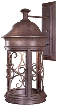 "View the The Great Outdoors GO 8283 1 Light 22.5"" Height Dark Sky Compliant Outdoor Wall Sconce from the Sage Ridge Collection at LightingDirect.com."