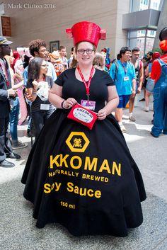 [Photographer] Kikkoman Soy Sauce (Animazement 2016) #cosplay http://bit.ly/1Pirklu