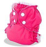 AppleCheeks 2-Size Envelope Cloth Diaper Cover (Size 2 (18-35+ lbs), Raspberry Sorbet) by AppleCheeks,   #25pins25kAC
