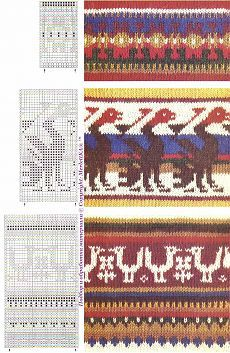 Фольклорные южноамериканские орнаменты для вязания, бисероткачества, вышивки и точечной росписи
