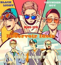 EXO FanArts~<3 [CBX] KYEOPTAA~!! <3<3<3 KAWAII~<3!