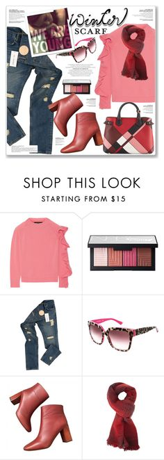"""""""SMARTBUYGLASSES CONTEST"""" by nanawidia ❤ liked on Polyvore featuring Paper London, NARS Cosmetics, Raf Simons, Dolce&Gabbana, Charlotte Russe, Burberry, polyvorecontest and smartbuyglasses"""