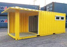 บิ๊กคอนเทนเนอร์.com Container Cafe, Cargo Container, Food Stall Design, Maker Shop, Bohol, Modular Homes, House In The Woods, Custom Homes, Coffee Shop