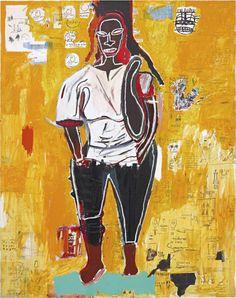 Jean-Michel Basquiat - Big Joy, 1984.