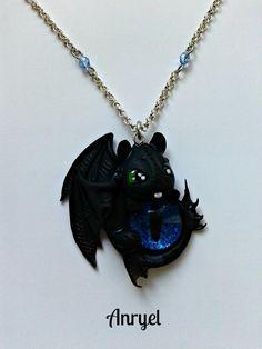 Dragon Trainer FAN arte brillan en la oscuridad del ojo que