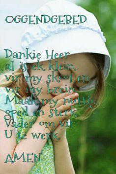 Afrikaans Oggend Gebed