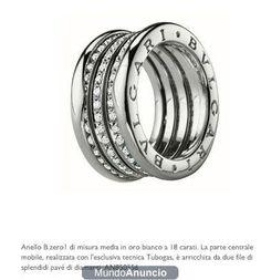 anillo de la prestigiosa marca bulgary - Barcelona - Joyas - Relojes - bulgary