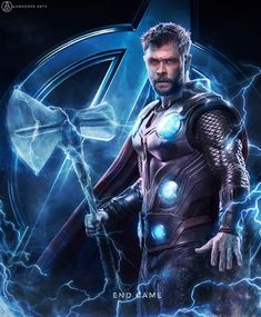 THOR day 10 of my avengers end game series cant wait to see them in end game 🔥 i hope u guys will put love and support on this series . Marvel Avengers, Marvel Comics, Captain Marvel, Marvel Art, Marvel Heroes, Marvel Characters, Scarlet Witch, Die Rächer, Avengers Pictures