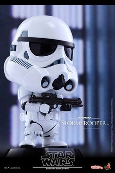 Hot Toys - COSB306 - Star Wars - Stormtrooper Cosbaby Bobble-Head