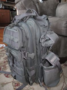56a0521b887 Maxpedition Falcon II & Rollypoly Bug Out Bag, Falcons, Tactical Gear,  Bushcraft