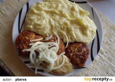 Mashed Potatoes, Beef, Ethnic Recipes, Food, Red Peppers, Whipped Potatoes, Meat, Smash Potatoes, Essen