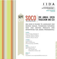 IIDA SOCO - Trade Show Vendor Booths