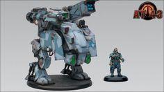 At 43 Una Copper Head Unit Box Rackham Warhammer Oni | eBay