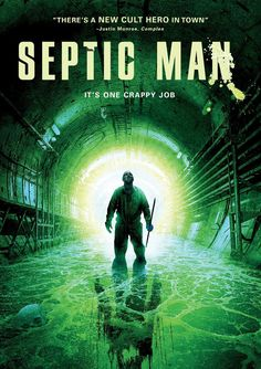 We've got some new stills and a trailer for the upcoming horror film Septic Man coming from Starz Digital Media. The film from the creators of Monster Braw