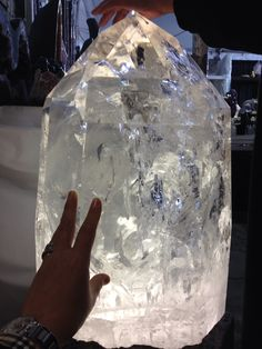 I love collecting crystal specimens and this is an amazing example of a spectacular quartz crystal point!
