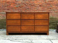 Conant Ball Modern 9 Drawer Dresser: click to enlarge