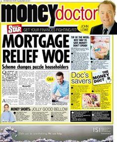 Irish Daily Star Money Doctor column Thursday 30th March 2017 Q