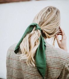 (via 8 Ways to Pull Off a Grown-Up Hair Bow - Camille Styles)
