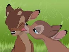 disney kisses- love bambi!!!!!!!!!
