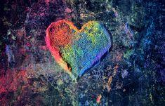 Légy büszke a szerelemre! Különleges darabokkal ünneplik a márkák a Pride hónapját Love Heart, Wallpapers, Painting, Colorful, Love, Paintings, Wallpaper, Draw, Drawings