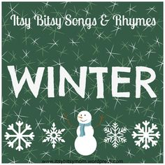 Winter Songs for Preschoolers | Songs, Winter and Mittens