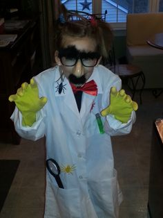 Mad Scientist Costume!
