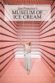 San Francisco Museum of Ice Cream Photo Video Tour of Rooms