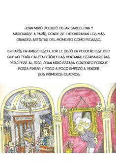 La pequeña historia de joan miro Joan Miro, Tapas, Children's Books, Preschool Education, Activities, Historia, Artists, Art, Pintura