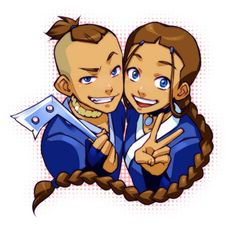 I really like this art of brother and sister. They bond between them was so close, almost as if they were twins, though they were born years apart.