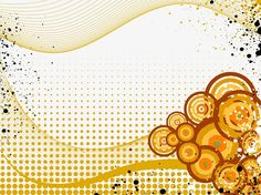 Grunge Circles Background vector free