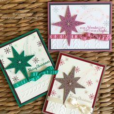 New Holiday 2016 Star of Light bundle...  www.bonniestamp.stampinup.net