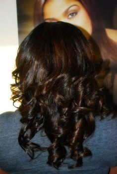 Full Sewin with added curls