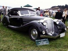 1938 Horch 853A Voll-Ruhrbeck Sport Cabriolet