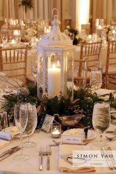 simonyao.com #weddingcenterpiece #winterweddings  #weddingreception  Columbus Ohio Wedding Photographer