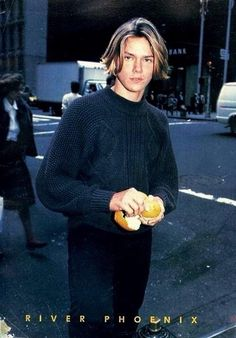 """everything19eighties: """" Rivers birthday has come to an end on my part of the earth so here is a photo of him peeling an orange """""""