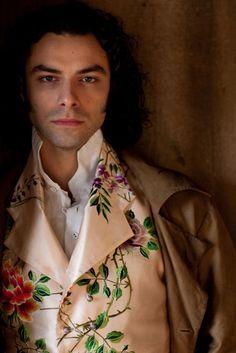 Aidan Turner as Dante Gabriel Rossetti in Desperate Romantics    More lusciousness at www.myLusciousLife.com