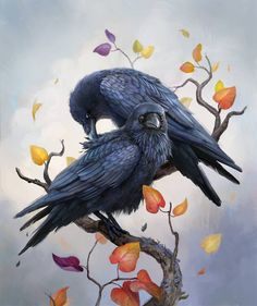 Want to discover art related to crow? Check out inspiring examples of crow artwork on DeviantArt, and get inspired by our community of talented artists. The Crow, Raven Bird, Crow Bird, Art Et Illustration, Illustrations, Crow Images, Raven Mask, Merle, Crows Ravens