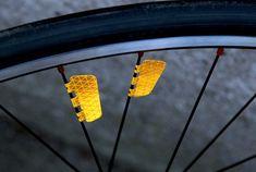 FLECTR ZERO is the world´s first bike reflector for your wheel which combines stylish design with state-of-the-art reflection and outstanding aerodynamics. Now also available in yellow. Bicycle Rims, Bicycle Lights, Bicycle Parts, Performance Wheels, Bike Wheel, Bike Art, Bike Accessories, Concept Cars, Things To Buy