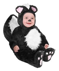 6 Month Old Boy Halloween Costumes | Brands On Sale Infant Baby Black Skunk Halloween  Costume