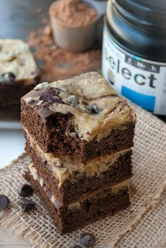 Healthy High Protein Chocolate Chip Marble Cake Bars made using whole food ingredients and PEScience protein powder.     After a long Sunday, my boyfriend and I decided to take it …-- use tice flour