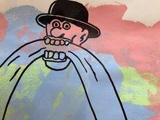 Kamagurka - Man met hoed